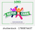 Refer And Earn Design Template. ...