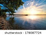 Sunset On Lake Starnberger See