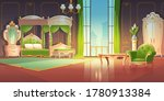 luxury bedroom interior with...   Shutterstock .eps vector #1780913384