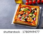 Puff Pastry Pizza With Grilled...