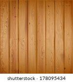 realistic wooden texture....   Shutterstock .eps vector #178095434