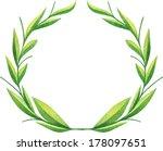 elegant color  watercolor... | Shutterstock . vector #178097651