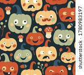 vector repeat pattern with... | Shutterstock .eps vector #1780983197