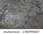 Mud Texture Or Wet Gray Soil As ...