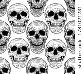 vector seamless pattern with... | Shutterstock .eps vector #1781021231