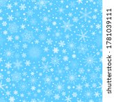 christmas seamless pattern with ...   Shutterstock .eps vector #1781039111
