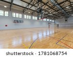 Small photo of Interior of a multipurpose sport hall