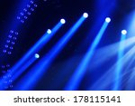 stage lighting effect in the... | Shutterstock . vector #178115141