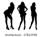 fashion show on a podium | Shutterstock . vector #17812558