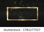 gold glitter with shiny gold... | Shutterstock .eps vector #1781277527