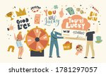 luck and fortune concept.... | Shutterstock .eps vector #1781297057