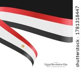 egypt independence day ... | Shutterstock .eps vector #1781318447
