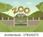 vector image of cartoon... | Shutterstock .eps vector #178133171