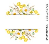 vector banner with white...   Shutterstock .eps vector #1781343731