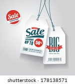 sale tags  | Shutterstock .eps vector #178138571