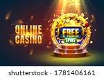 casino online play now slots... | Shutterstock .eps vector #1781406161