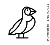 Puffin Icon Or Logo Isolated...