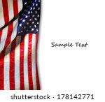 american flag | Shutterstock . vector #178142771