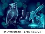 owl bird symbol of wise... | Shutterstock .eps vector #1781431727