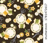 seamless pattern with... | Shutterstock .eps vector #1781472617
