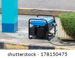 gasoline powered portable... | Shutterstock . vector #178150475