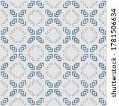 raster geometric seamless...   Shutterstock . vector #1781506634