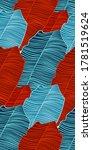 tropical luxury seamless...   Shutterstock .eps vector #1781519624