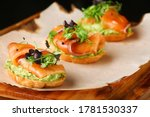 Selection Of Tasty Bruschetta...