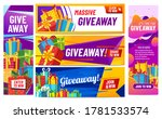 giveaway colorful banners....   Shutterstock .eps vector #1781533574