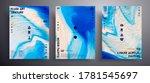 abstract vector banner  set of... | Shutterstock .eps vector #1781545697