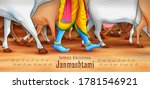 illustration of feet of lord... | Shutterstock .eps vector #1781546921