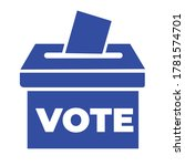 vote ballot box for voting flat ...