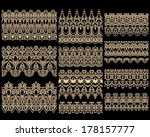 seamless laced vector patterns  ...