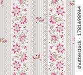 seamless floral pattern....   Shutterstock .eps vector #1781698964