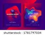 electronic music festival... | Shutterstock .eps vector #1781797034