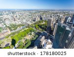 a clear sunny day in sydney ... | Shutterstock . vector #178180025