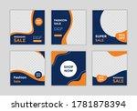 editable template post for...   Shutterstock .eps vector #1781878394