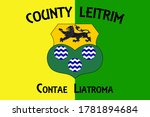Flag Of County Leitrim Is A...