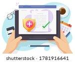 health medical insurance vector ... | Shutterstock .eps vector #1781916641