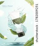 3d illustration of herbal... | Shutterstock .eps vector #1782009251