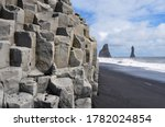 Close Up Of The Basalt Columns...