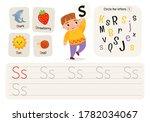kids learning material.... | Shutterstock .eps vector #1782034067