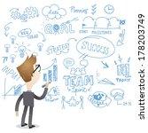 illustration of a cartoon... | Shutterstock . vector #178203749
