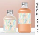 vector soda or juice beverage... | Shutterstock .eps vector #1782080861
