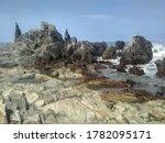 Large Rocks View Of Arambol...