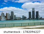 A View Of Downtown Detroit From ...