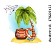 summer icon | Shutterstock .eps vector #178209635