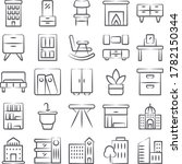 modern buildings decorative... | Shutterstock .eps vector #1782150344