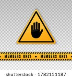 members only icon. closed... | Shutterstock .eps vector #1782151187