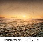 Winter Landscape. Oil Painting...